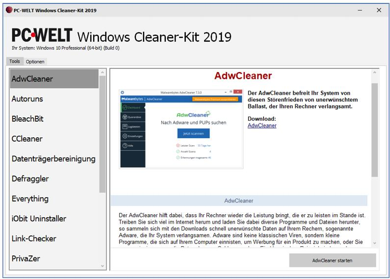 PC Cleaner Kit